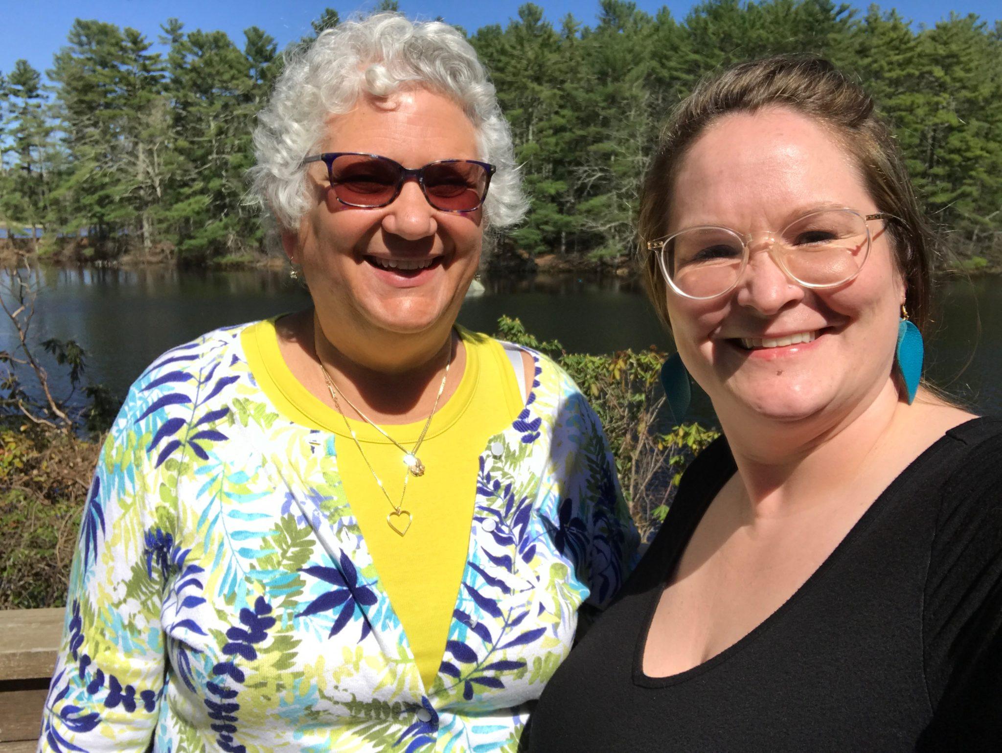 Judith and Heather Neidbala